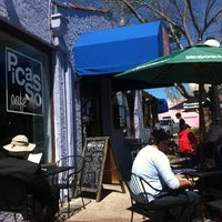 Photo taken at Picasso Café by Cynthia N. on 4/4/2012