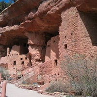 Photo taken at Manitou Cliff Dwellings by Jeremy M. on 3/27/2012