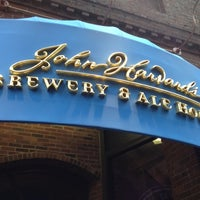 Photo taken at John Harvard's Brewery & Ale House by Maria on 9/4/2012
