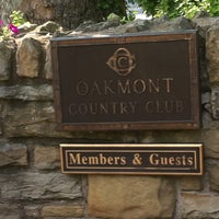 Photo taken at Oakmont Country Club by Brad F. on 5/26/2012