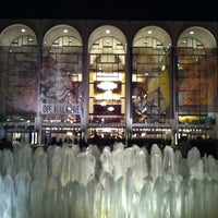 Photo taken at Josie Robertson Plaza (Lincoln Center Plaza) by Macadamia N. on 4/8/2012
