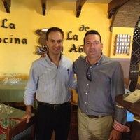 Photo taken at Cocina de La Abuela by Salva G. on 5/12/2012