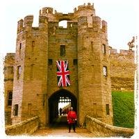 Photo taken at Warwick Castle by Ali M. on 6/4/2012