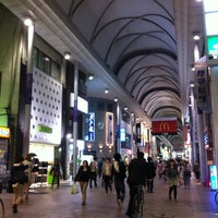 Photo taken at Hiroshima Hondori Shotengai by Amane_z ア. on 5/18/2012