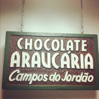 Photo taken at Fábrica Chocolate Araucária by Carla P. on 8/26/2012