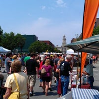 Photo taken at Downtown Des Moines Farmers Market by Tim D. on 5/26/2012