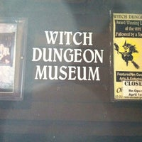 Photo taken at Witch Dungeon Museum by Craig L. on 2/21/2012