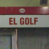 Photo taken at Metro El Golf by Fernanda L. on 3/30/2012