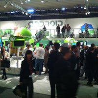Photo taken at MWC 2012 Android stand by Marek C. on 2/29/2012