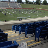 Photo taken at Paulson Stadium by Tiffany A. on 8/24/2012