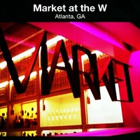 Photo taken at Market at the W by Plasmosis P. on 3/15/2012