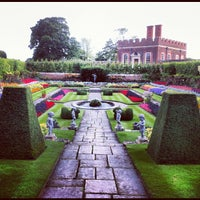 Photo taken at Hampton Court Palace Gardens by Jimmy S. on 9/1/2012