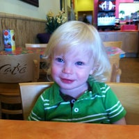 Photo taken at Tropical Smoothie Cafe by Kerri B. on 8/31/2012