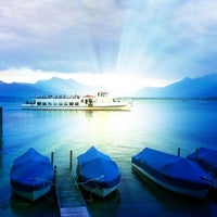 Photo taken at Chiemsee by Grashey on 7/1/2012
