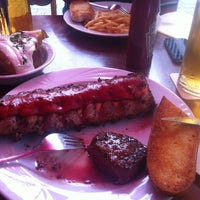 Photo taken at Farmer's Steakhouse by Emre on 8/15/2012