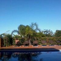 Photo taken at Pousada Vila Tamarindo Eco Lodge by Eduardo L. on 4/3/2012