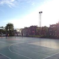 Photo taken at สนามบาส by PoUn ป. on 7/14/2012