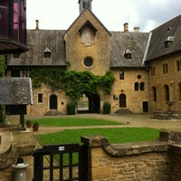 Photo taken at Abbaye Notre-Dame d'Orval by Cédo on 6/23/2012