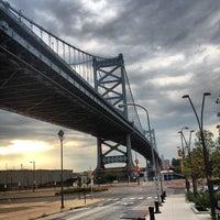 Photo taken at Benjamin Franklin Bridge by Rob on 7/10/2012