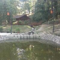 Photo taken at Japanski vrt by Stefan S. on 8/13/2012