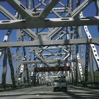 Photo taken at Carquinez Bridge by Jake B. on 5/9/2012