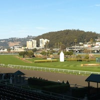 Photo taken at Golden Gate Fields by Angela C. on 2/4/2012
