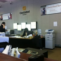 Photo taken at One United Bank by LT B. on 5/31/2012