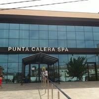 Photo taken at Punta Calera Spa Aqualia by Taxi San Pedro del Pinatar on 8/7/2012