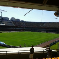 Photo taken at São Paulo Futebol Clube (SPFC) by Andres P. on 8/12/2012