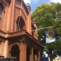 Photo taken at Flushing Town Hall by Julie C. on 8/12/2012