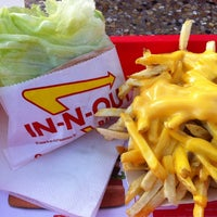 Photo taken at In-N-Out Burger by Tiffany B. on 6/7/2012