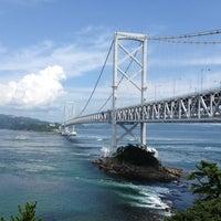 Photo taken at Onaruto Bridge by niha00 on 8/12/2012