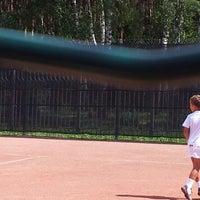 Photo taken at Теннисные корты «Радужный» by Сергей М. on 7/25/2012