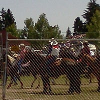 Photo taken at Vancouver Rodeo by Kathy A. on 7/4/2012