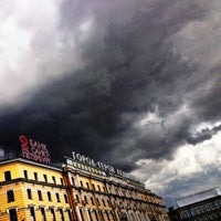 Photo taken at Октябрьская / Oktiabrskaya by Владимир Д. on 6/29/2012