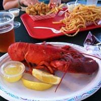 Photo taken at Arnold's Lobster & Clam Bar by Rebecca J. on 7/18/2012
