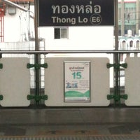 Photo taken at BTS Thong Lo (E6) by IamEnjoy K. on 3/25/2012