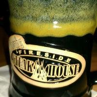 Photo taken at Joseph's Fireside Steakhouse by Marilyn P. on 2/11/2012