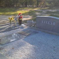 Photo taken at O P Flynt Family Gravesite by Jeffrey F. on 3/15/2012