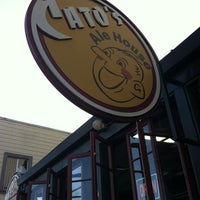 Photo taken at Cato's Ale House by ROOTMIX on 4/30/2012
