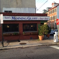 Photo taken at Sam's Morning Glory Diner by Justo G. on 3/23/2012