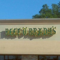 Photo taken at Beef 'O' Brady's by Ronald B. on 5/1/2012