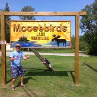 Photo taken at Moosebirds on Lake Vermilion by Dave C. on 8/11/2012