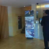 Photo taken at Hotel MATTHIEU Yeosu by Evian K. on 4/27/2012