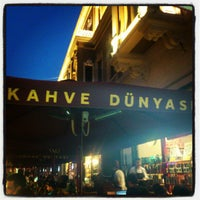 Photo taken at Kahve Dünyası by Murat A. on 6/18/2012