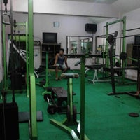 Photo taken at kandangan gym and fitness center by Arif Rokhman H. on 8/14/2012