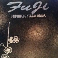 Photo taken at Fuji Japanese Steak House by Jeramiah D. on 9/1/2012