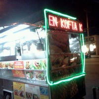 Photo taken at Mushin's Halal Food [Gyro Cart] by Donna Marie on 8/19/2012