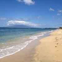 Photo taken at Ukumehame Beach by Wakon C. on 4/15/2012