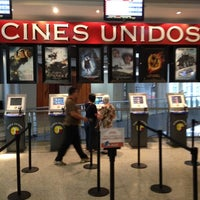 Photo taken at Cines Unidos by Frank B. on 4/6/2012